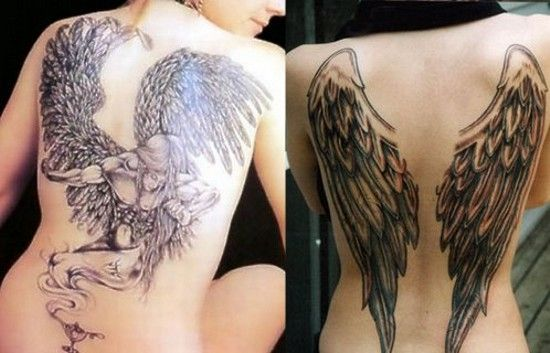 AngelWingstattoo, Tattoo Ideas, Angel Wings, Angels Tattoo Design, Angels Wings Tattoo, Body Art, Angel Wing Tattoos, Funny Tattoo, Wings Tattoo Design