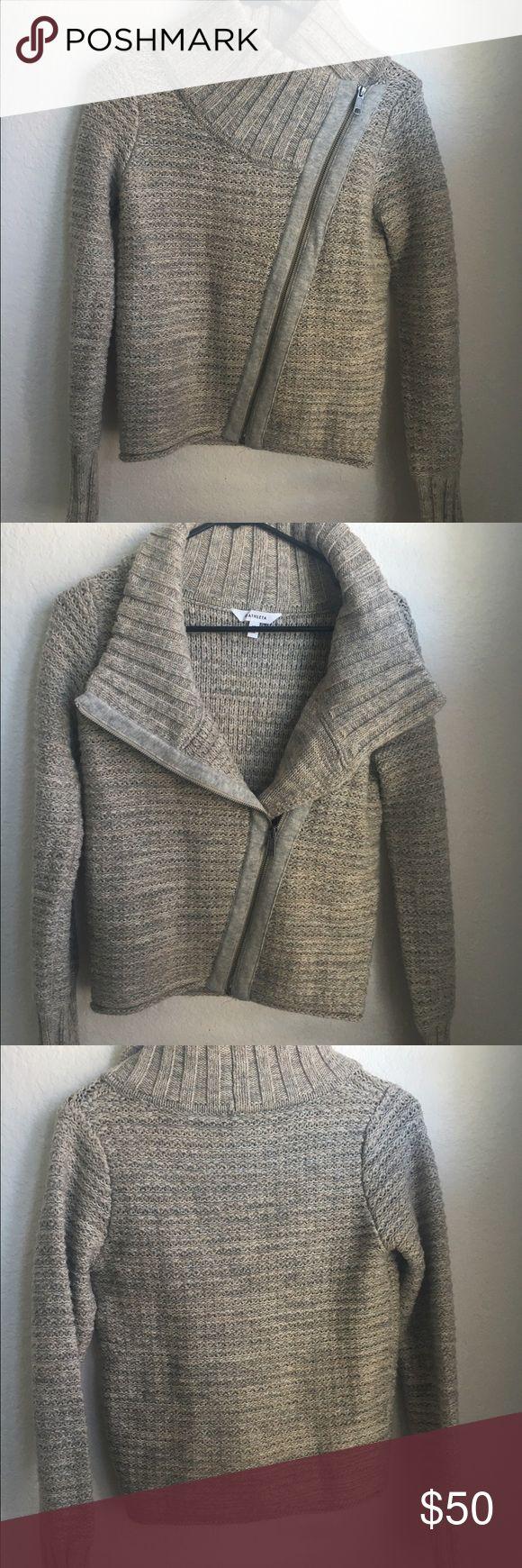 Athleta 100% Merino Wool Sweater Jacket Beautiful oatmeal colored merino wool sweater, like new condition.  Original list price is estimated. Athleta Sweaters Cardigans