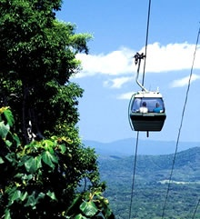 Kuranda Skyrail, Cairns & Green Island Coral Cay (only 45min by boat) Two day excursion