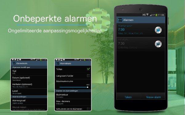 Lekker opstaan en beter slapen met een app