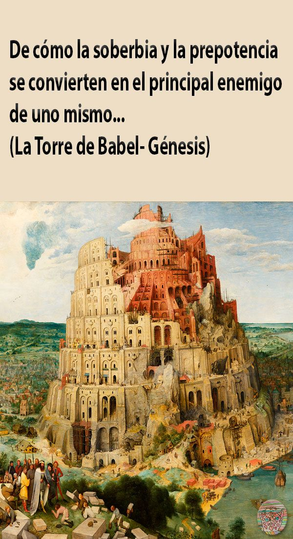 La Torre De Babel Historia Biblica Para Ninos Sobre La Soberbia