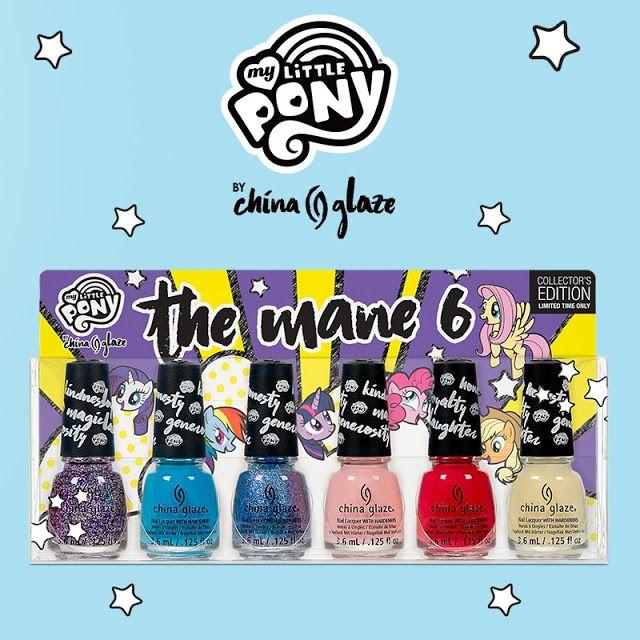 """Coleção """"My Little Pony"""" da China Glaze"""