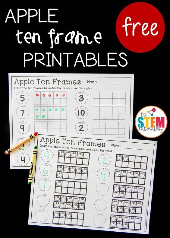 32 best Ten Frames images on Pinterest Ten frames, Preschool and - ten frame template