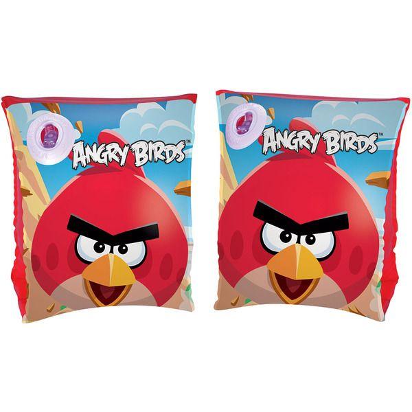 Bestway 96100 Нарукавники 23х15 см Angry Birds, 3-6 лет,   (36)