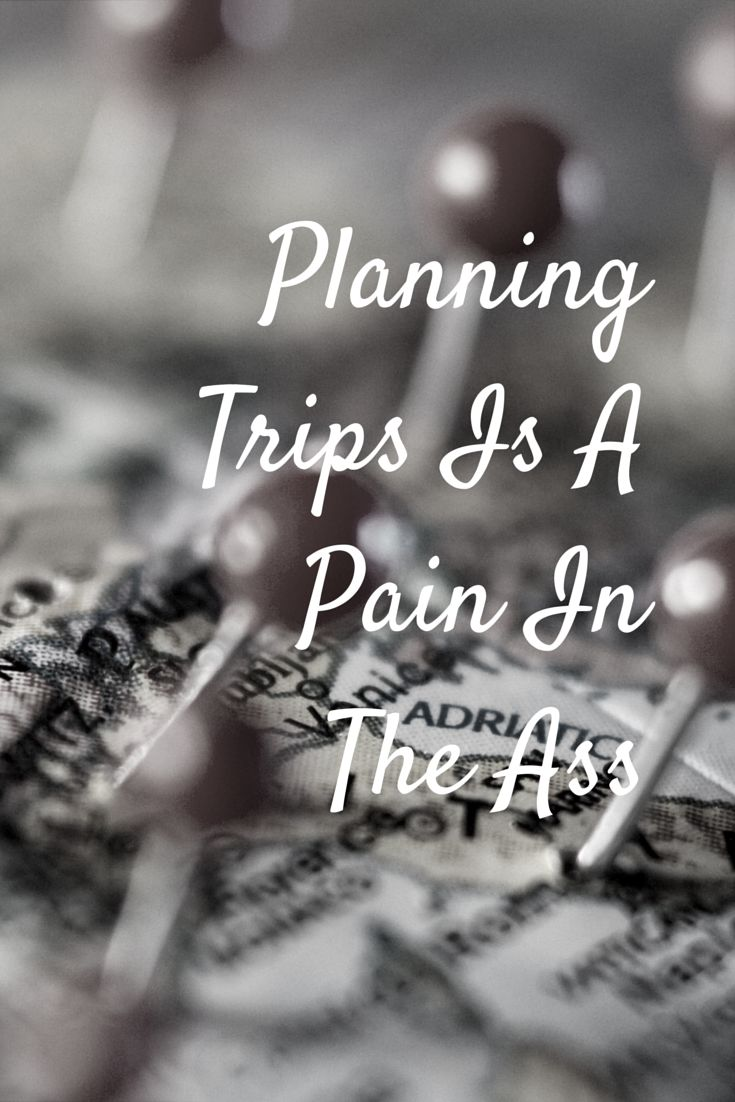 Do you ever feel sometimes that planning a trip, while fun, can be frustrating and time consuming?