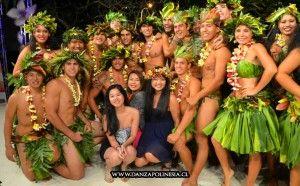 bailarines Polinesia