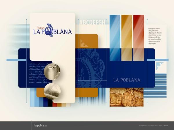 Mapa Visual La Poblana by RiveraCarlos Disegno, via Behance