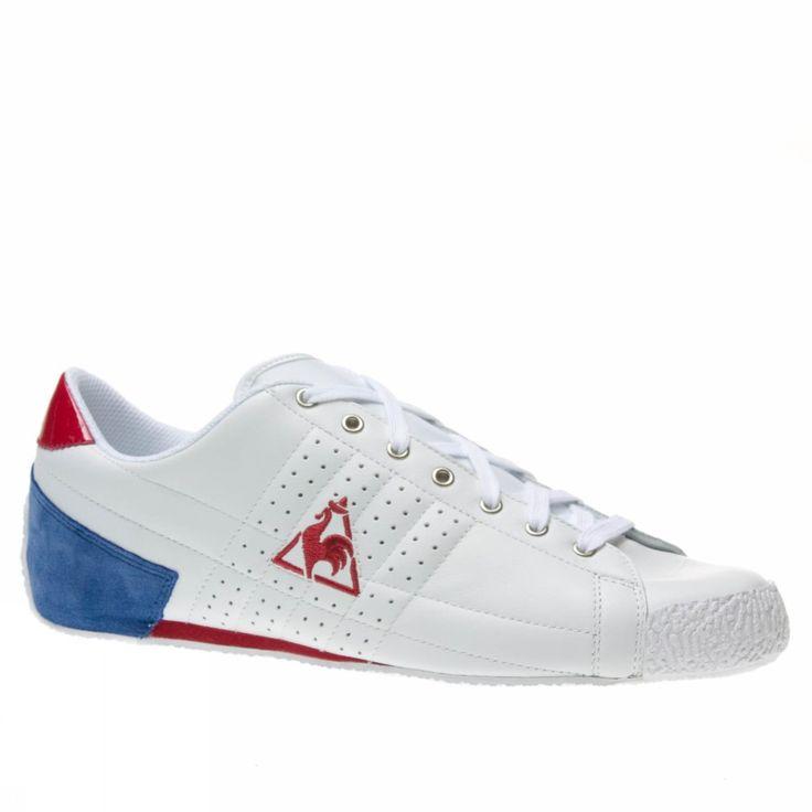 Le Coq Sportif Escrime Lea White Trainers Shoes Mens   Womens New