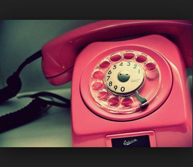 Pink telefone
