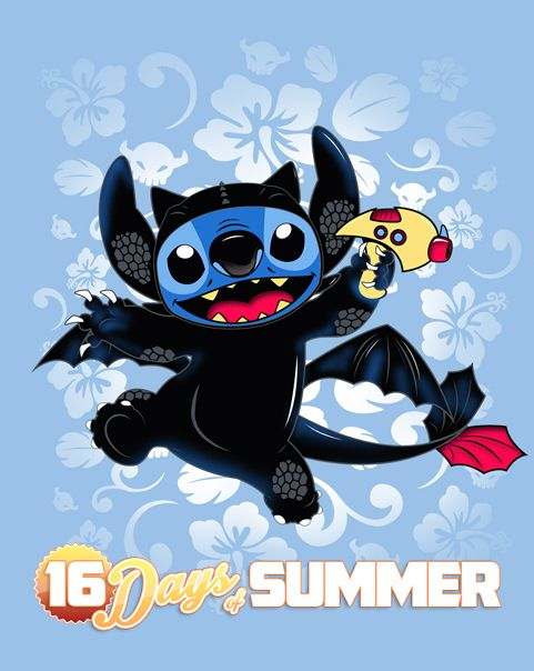 How to Train Your Experiment 626 T-Shirt $10 Lilo & Stitch tee at ShirtPunch today only!