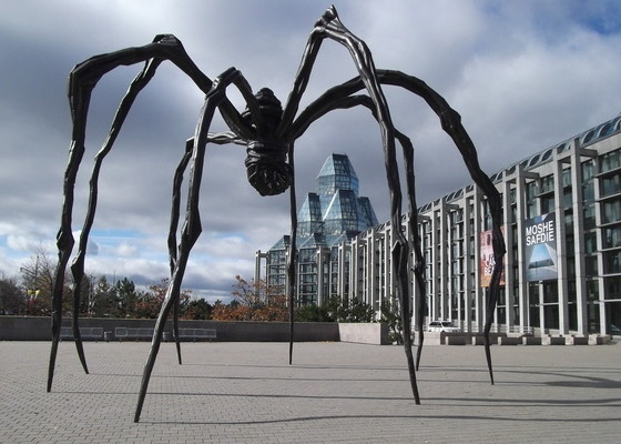 Art meets psychoanalysis in work by Louise Bourgeois: Maman at the National Gallery of Canada, Ottawa