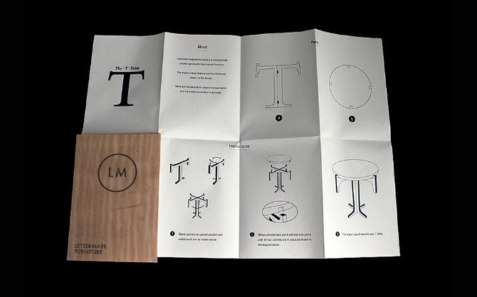 Mark Matcham Design, Lettermark Furniture