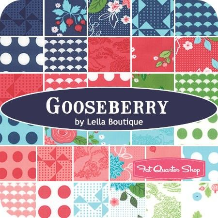 """Gooseberry Jelly Roll ReservationLella Boutique for Moda Fabrics - Jelly Rolls & 2.5"""" Strips 