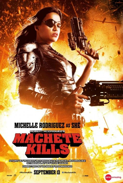 Machete movie poster (#13 of 13) imp awards.