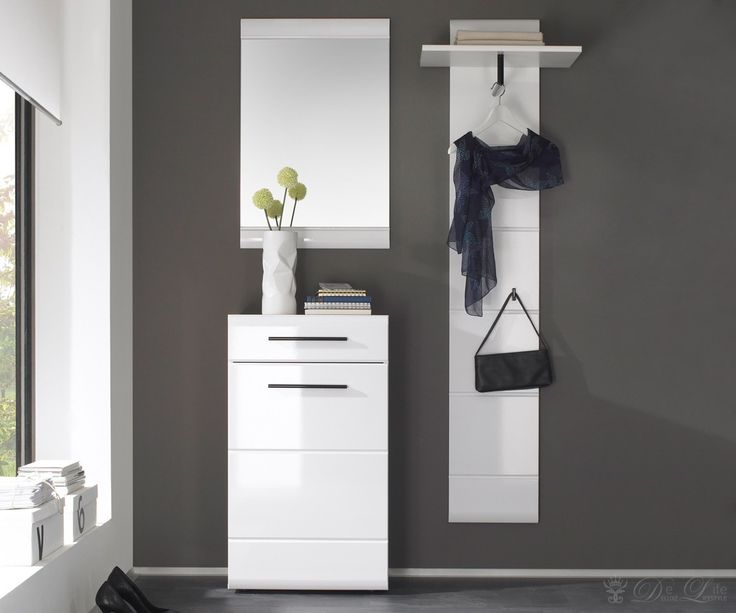 die besten 25 garderobe weiss ideen auf pinterest. Black Bedroom Furniture Sets. Home Design Ideas