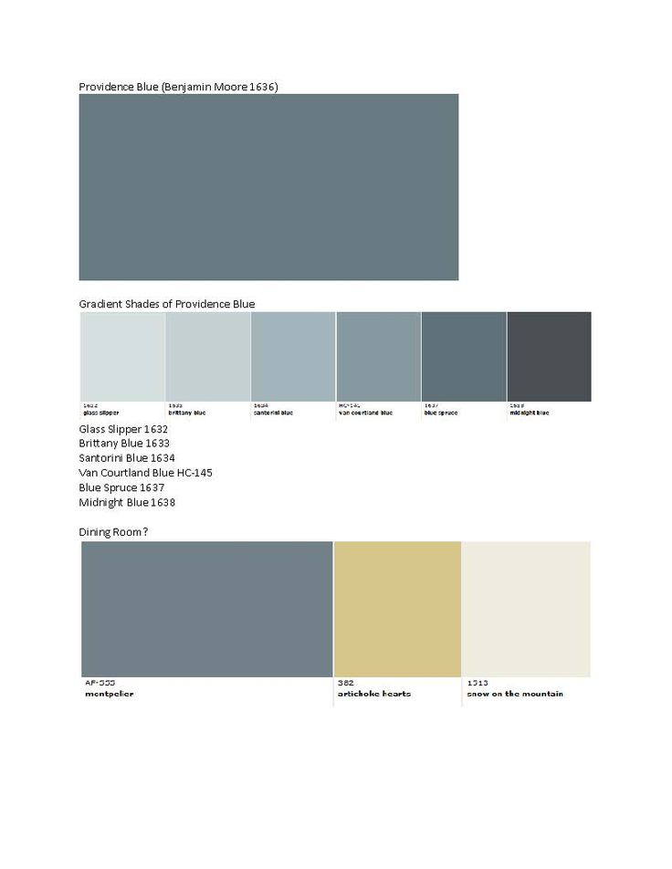 Benjamin moore providence blue 1636 blue teal gray wall - What is accent color ...