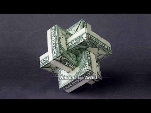 Origami Umulius Rectangulum w/ Link to Folding Instructions - Money Origami