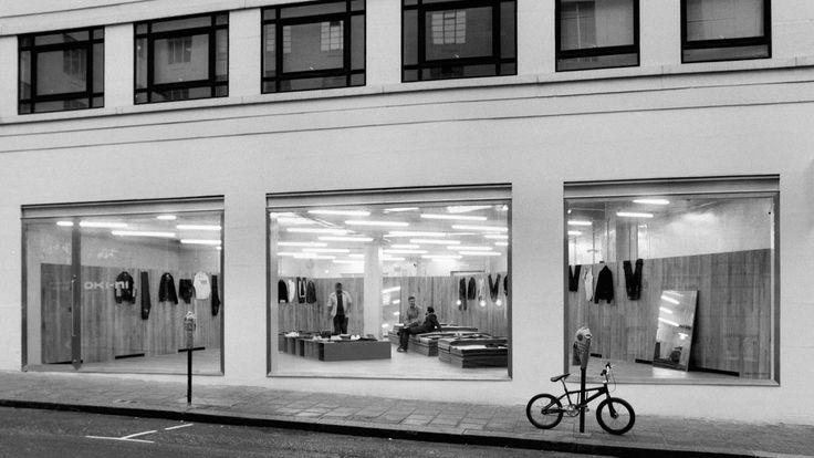 oki-ni savile row store, london 2001.