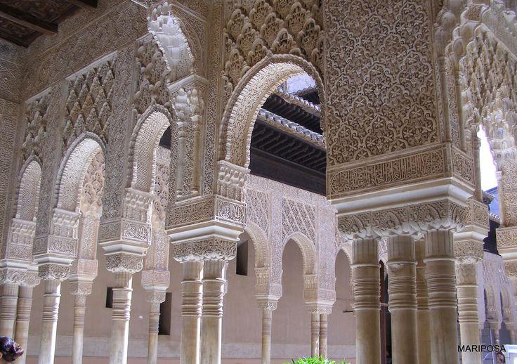 Hiszpania, Granada, Alhambra mariposawdrodze.blogspot.com