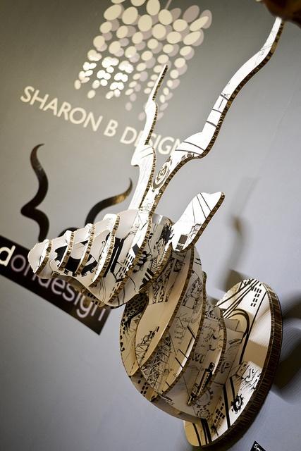 Sharon B Design Xanita Board exhibit feature at Design Indaba 2012 held at CTICC Cape Town