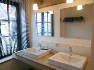 Badkamer 1 Vakantiehuis voor 12 tot 14 personen Pannenstraat 104 | ZaligAanZee.be