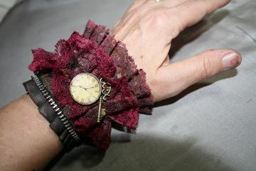 Steampunk Wrist Cuffs - special request for Christmas gifts- pic heavy - JEWELRY AND TRINKETS