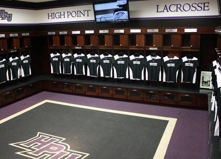 High Point Lacrosse >> Steele Center - Women's Lacrosse Locker Room at High Point University | Extraordinary Places ...