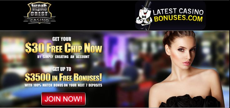 Get the latest $30 No Deposit Bonus! US players accepted!