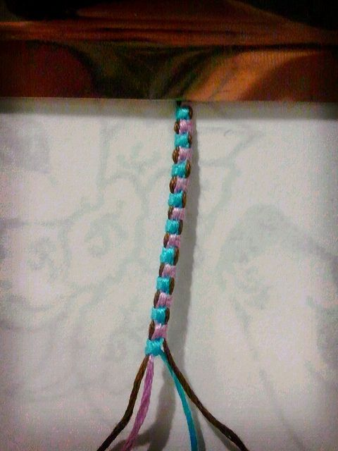 3-1 magic bracelet. Pictures and video tutorial. #dyi #bracelets
