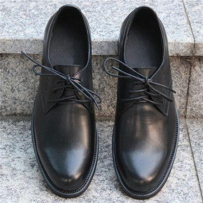 Внешнеторговые кожа мужской деловой одежды повседневная обувь отдел взять на себя ведущую слой мягкой кожи указал обувь дышащая оригинальные один мужчина - Taobao
