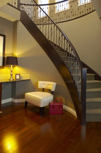 Front Stairway | WestView Builders | Montrose Calgary | Showhome
