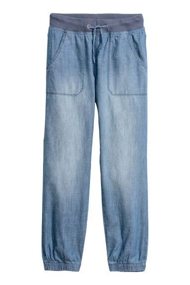 Pull on -housut - Sininen/Chambray - Kids | H&M FI
