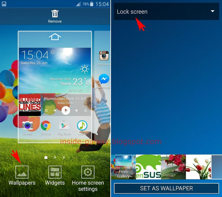 Samsung Galaxy S4: How to Change Lock Screen Wallpaper in Android