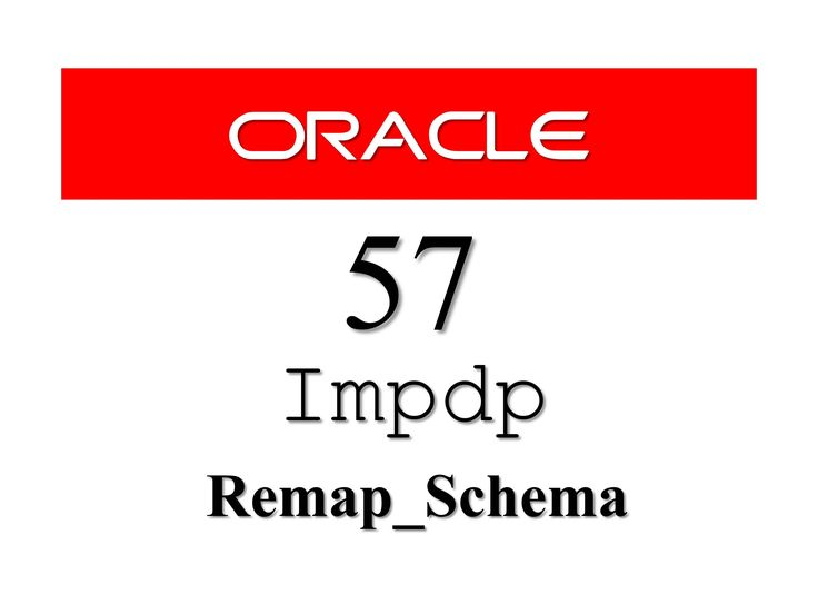 How To import tables in Different schema using impdp Data Pump import A little while ago some of you asked me about how to import tables in different schema in #Oracle #Database. So here it is short and crispy video on the same. Do check it out like, share and subscribe   Tags #SQL #RebellionRider #oracleDatabase #Oracle11g #oracle12c