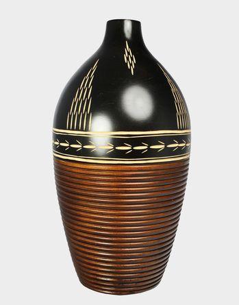 HomeLove.cz | Dřevěná váza 38,5 cm Thajsko