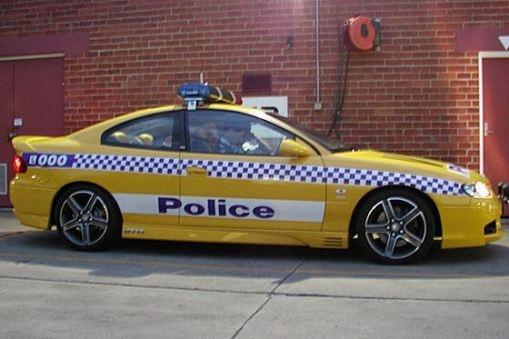 Australian Holden Monaro GTO Police Car