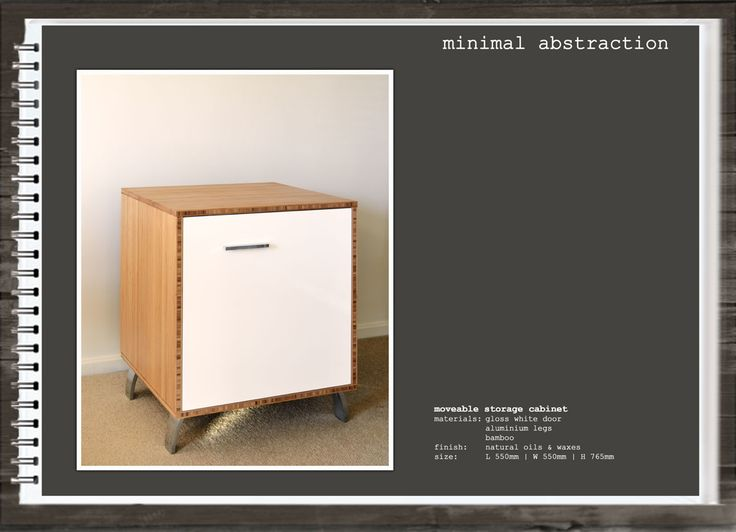 Minimal Abstraction: Moveable Storage Cabinet