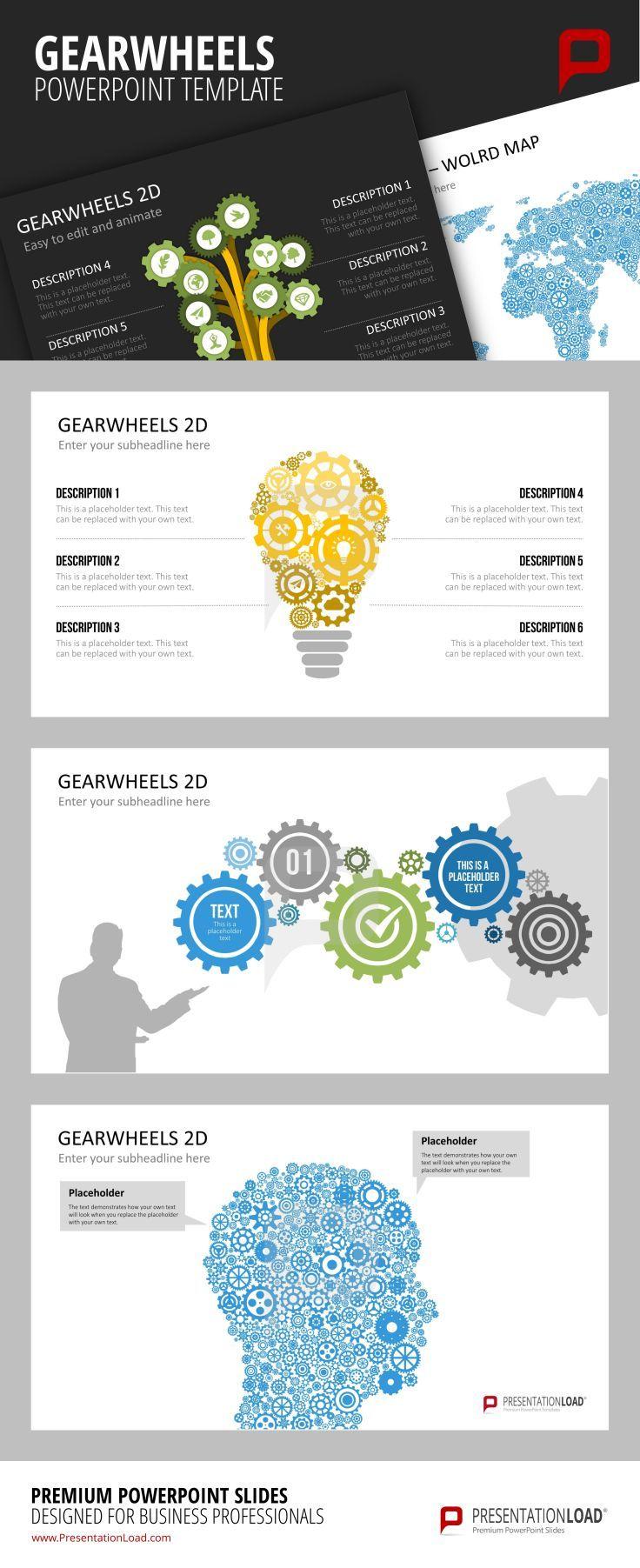 47 best technical design powerpoint templates images on pinterest gearwheels powerpoint templates templatesrole modelstemplate toneelgroepblik Gallery