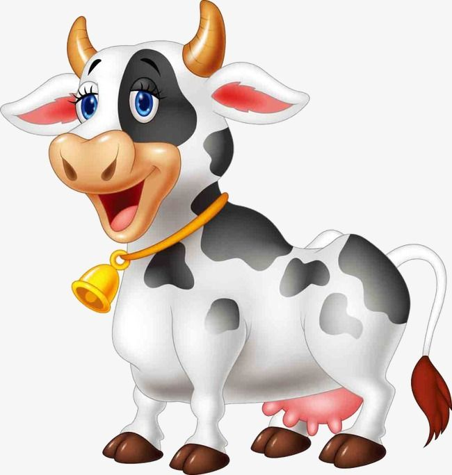 Cartoon Cow Cartoon Clipart Cow Clipart Cartoon Png And Vector With Transparent Background For Free Download Cartoon Cow Cartoon Clip Art Happy Cartoon