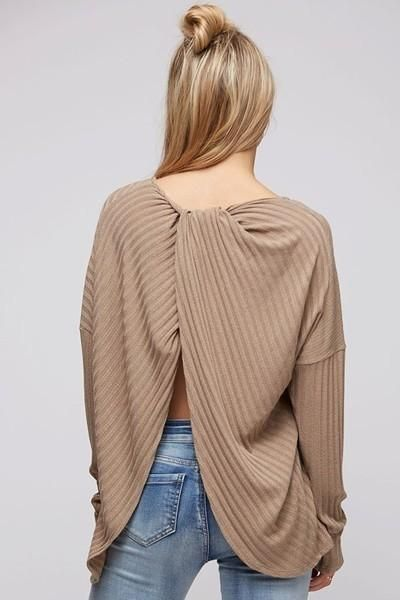 Lucy Twist Back Top