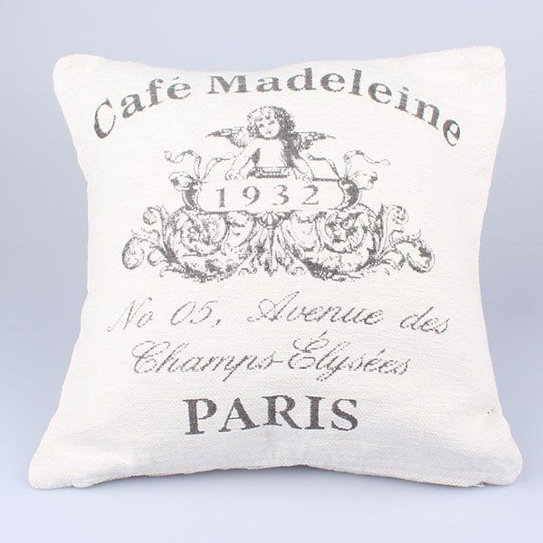 Dekoračná obliečka VINTAGE Madeleine biely