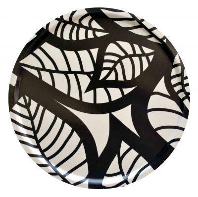 Mairo black Hosta tray. Designed by Linda Svensson Edevint.