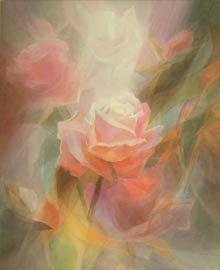 beautiful veil painting