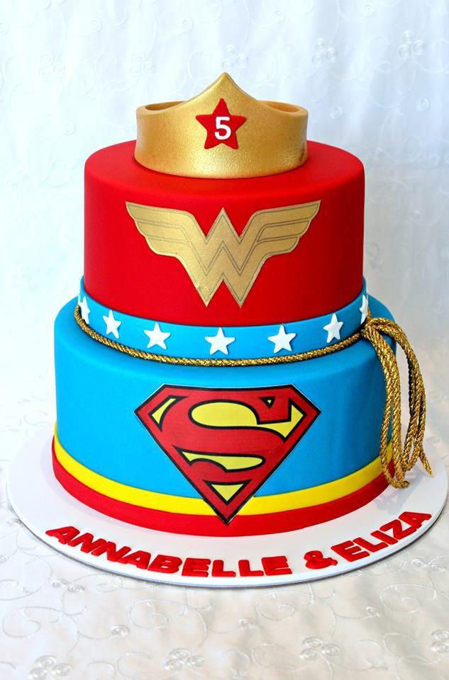 Wonder Woman Cake Love Kids Cakes Wonder Woman Cake