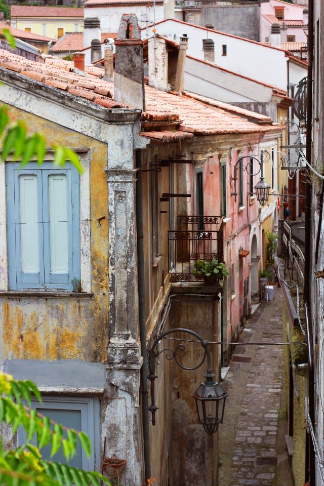 Maratea:centro storico parte alta