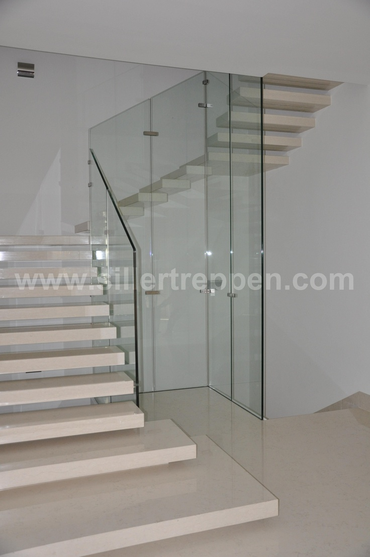 concrete stairs, white concrete stairs, floating concrete stairs,  cantielvered concrete treads