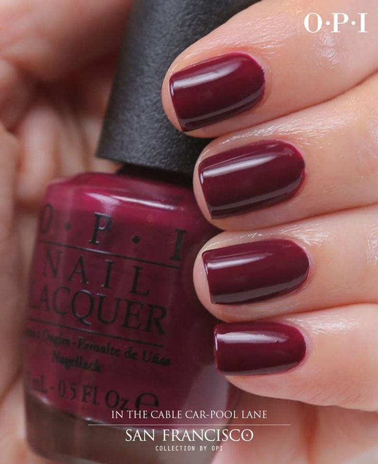 Nail Colors Burgundy: 17 Best Ideas About Maroon Nail Polish On Pinterest