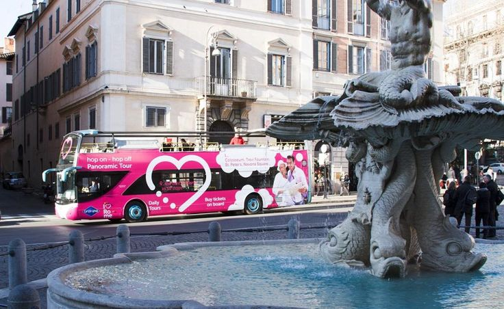 With this hop-on-hop-off ticket, you will see a lot of Rome's attractions at your pace and in total freedom. Travel past city highlights and have the ability to do exactly as you please.