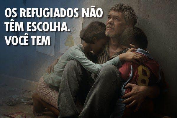 UNEGRO- RIO DE JANEIRO: 20 de Junho Dia Mundial do Refugiado: