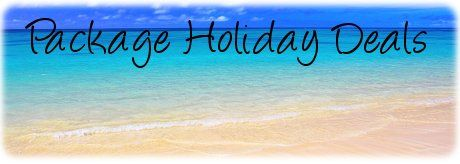 Get a good deal on your package holiday - late deals
